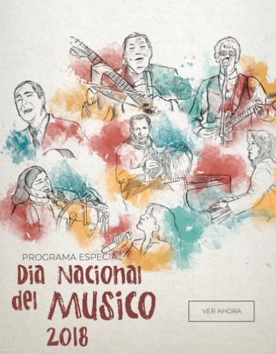 Programa especial Día Nacional del Músico