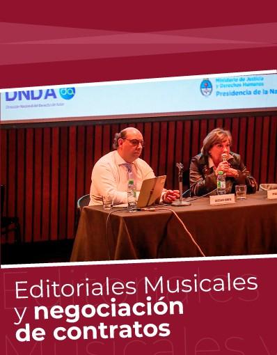 Taller Internacional - Tema 5: Editoriales musicales y negociación de contratos