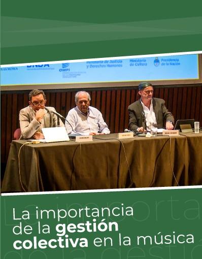 Taller Internacional - Tema 8: La importancia de la gestión colectiva en la música