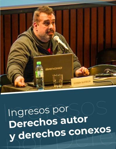 Taller Internacional - Tema 3: Posibilidades de fuentes de ingresos derivados de los derechos de autor y derechos conexos para autores y artistas