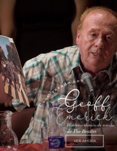 Conversando con Geoff Emerick - Histórico técnico de sonido de The Beatles