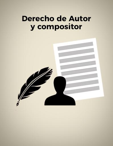Tutorial - Derecho de Autor y Compositor